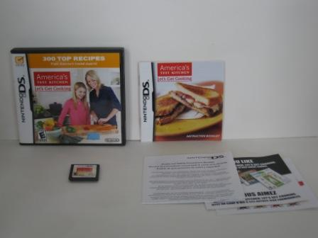 Americas Test Kitchen: Lets Get Cooking (CIB) - Nintendo DS Game